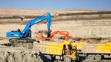 GC518H-9内蒙矿区施工