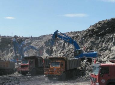 山西矿区施工