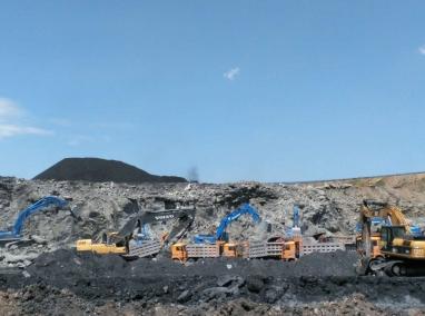 内蒙矿区施工