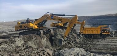 锡林郭勒盟西乌珠穆沁旗矿区施工