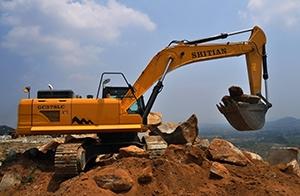 挖掘机的结构原理_节能挖掘机