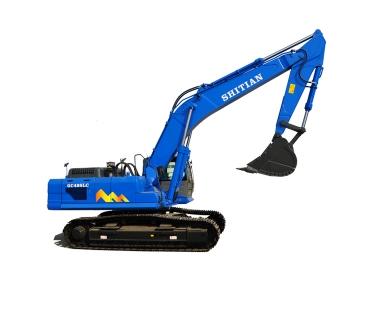 履带式液压挖掘机