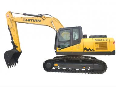 山东SH215-9新型液压式挖掘机